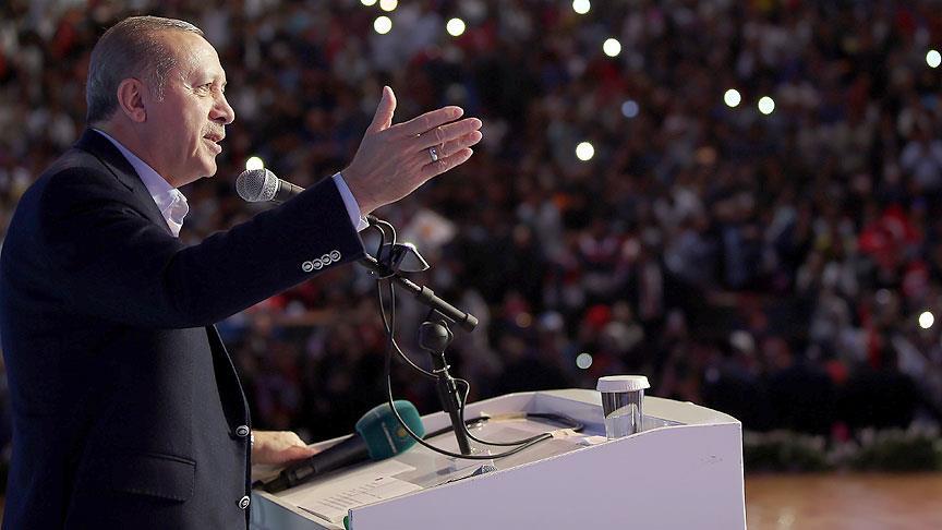 Cumhurbaşkanı Erdoğan: Nerede bize yönelik taciz varsa ansızın vurabiliriz