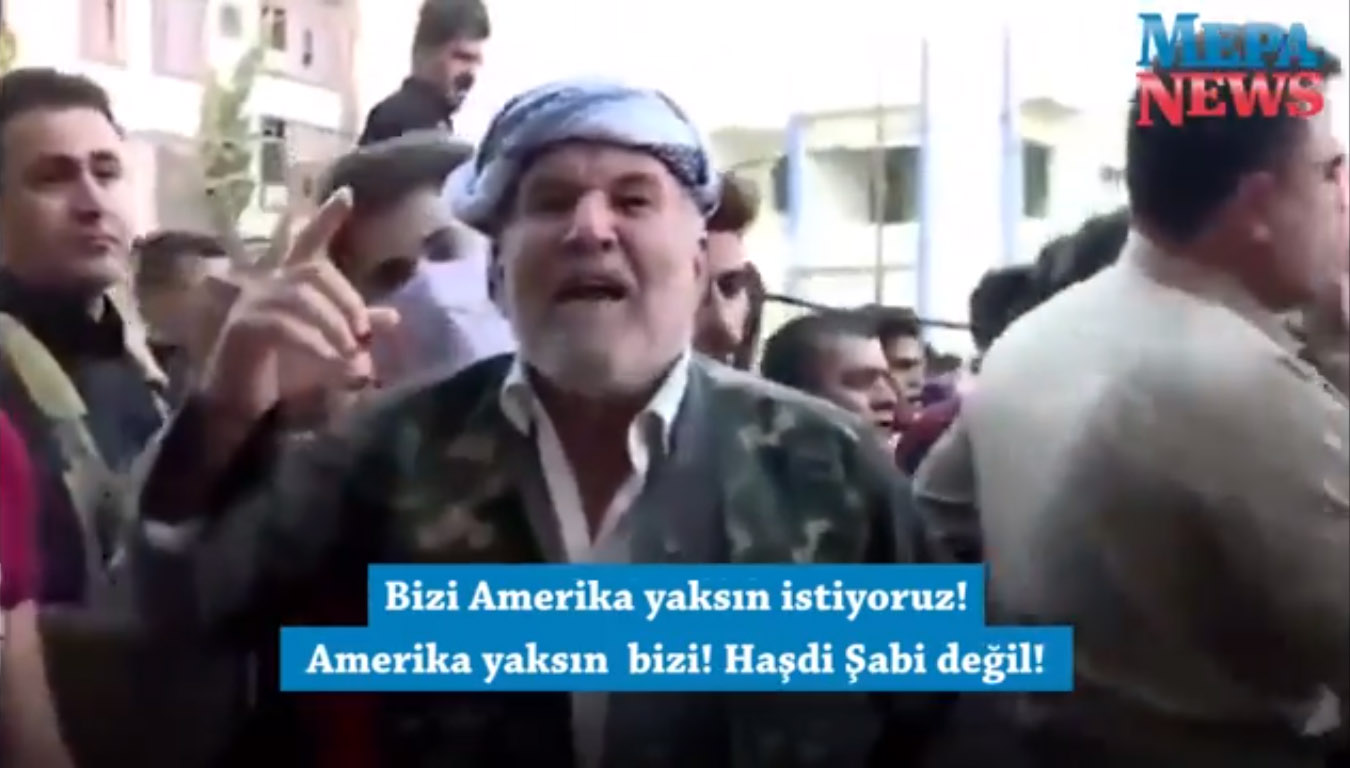 Erbilli Kürt isyan etti: Amerika ve İsrail bize söz verdi! Yalancılar