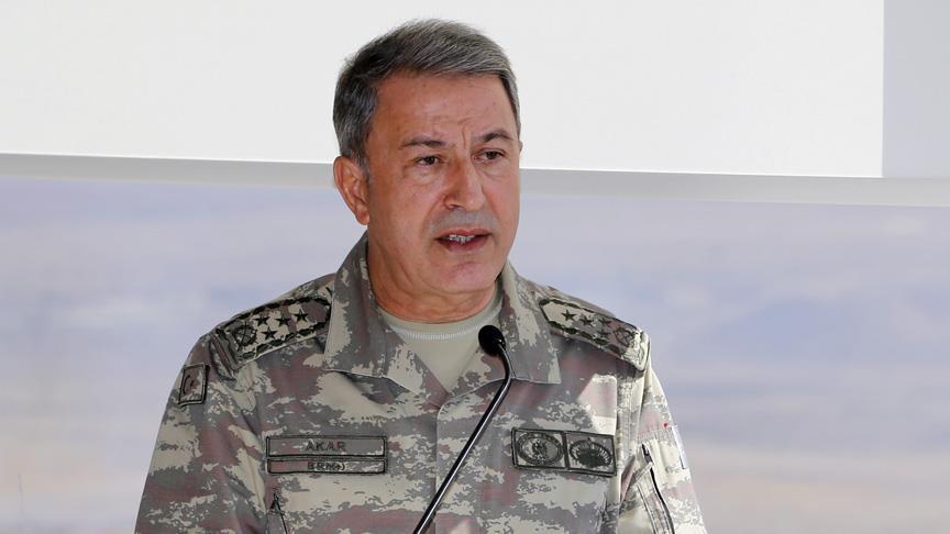 Genelkurmay Başkanı Akar: PYD ve PKK aynı yapının kollarıdır
