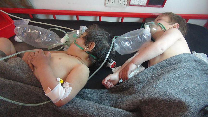BM 'artık' emin: Rejim 100 kişiyi sarin gazıyla öldürdü