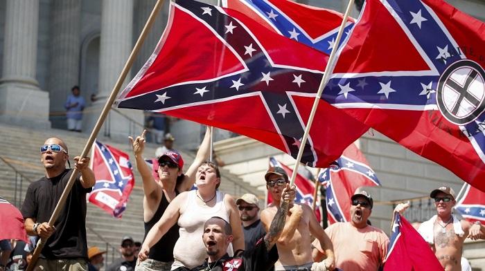 ABD'de 'beyaz ırkın üstünlüğünü' savunanlar sokağa indi