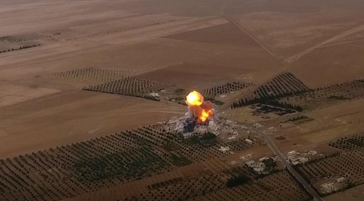 HTŞ'den rejime bombalı araç saldırısı