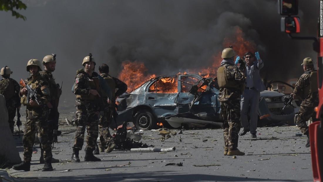 'Diplomatik bölge'de bombalı saldırı: 5 ölü