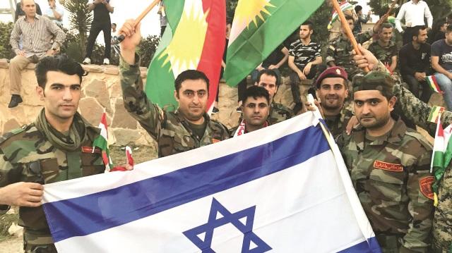 Barzani'ye kötü haber: İsrail bayrağı artık yasak