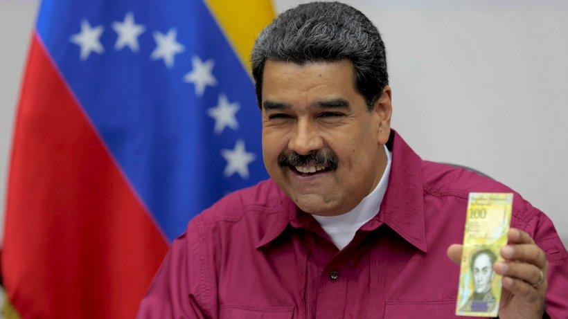 Venezuela ekonomisi alarm veriyor: 100 binlik banknot basıldı