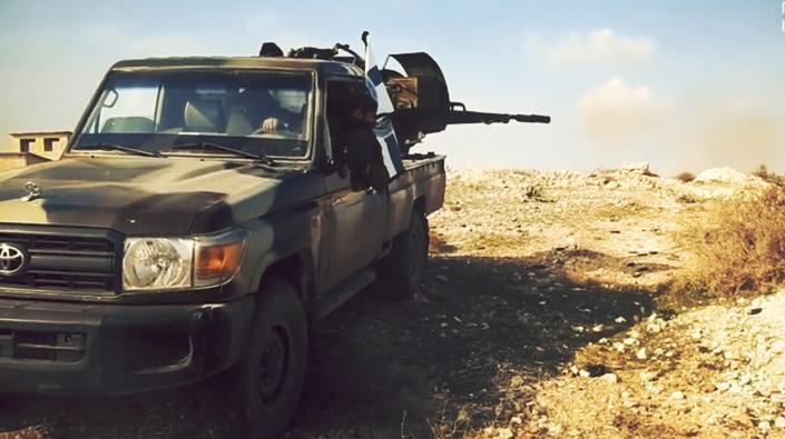 'Devrim' tarihinde ilk: Muhalifler Batı Guta'ya ulaştı