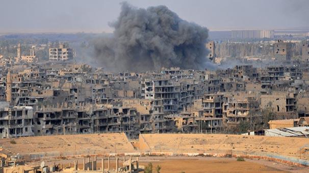 Deyr ez Zor'daki çatışmalar 350 bin kişiyi yerinden etti