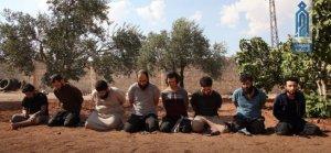 Tahriru'ş Şam 8 IŞİD'liyi idam etti