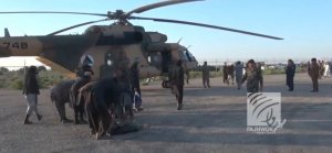 Taliban'dan kaçan IŞİD'liler helikopterlerle tahliye edildi
