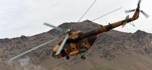 Afganistan'da 4 yıl içinde en az 9 helikopter düştü
