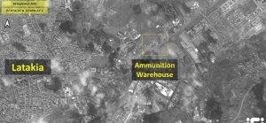 İsrail'in Suriye'de düzenlediği saldırının sonrasına ait görüntüler yayınlandı