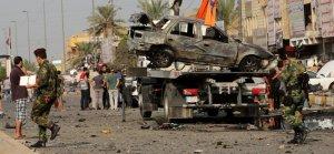 Irak'ta bombalı araç saldırısı