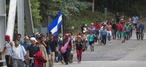 Meksika'dan ABD'ye bir göçmen kabilesi daha yola çıktı