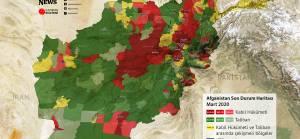 Afganistan son durum haritası (Mart 2020)