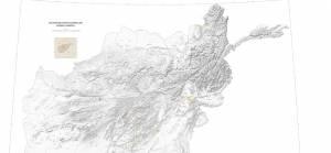 Afganistan yeraltı kaynakları haritası