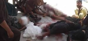 ABD destekli güçler Afganistan'da pazar yerinde katliam yaptı: 20 ölü 30 yaralı