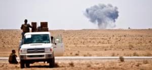 Suriye Çölü'nde IŞİD varlığı