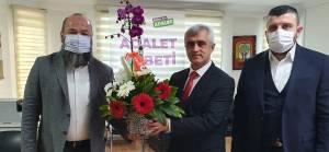 Halis Bayuncuk grubundan HDP'li Gergerlioğlu'na ziyaret