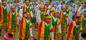 Myanmar etnik yapı haritası
