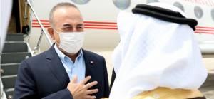 Bakan Çavuşoğlu Suudi Arabistan'da
