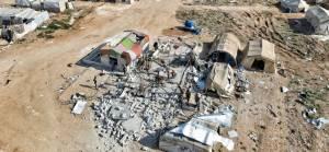 Rusya İdlib kırsalındaki mülteci kampını bombaladı