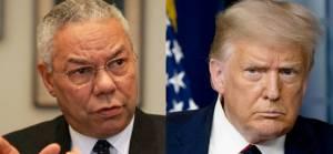 Trump: Yalancı basın Powell'a ölümünden sonra çok iyi davrandı