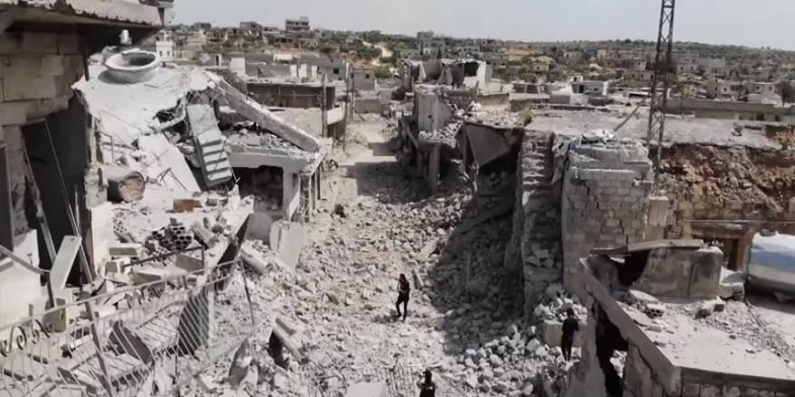 Rusya ve Esed rejimi yerleşimleri sivillerin başına yıkıyor: İdlib'de tahribatın boyutları ağır