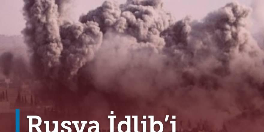 Rusya İdlib'i insansızlaştırıyor