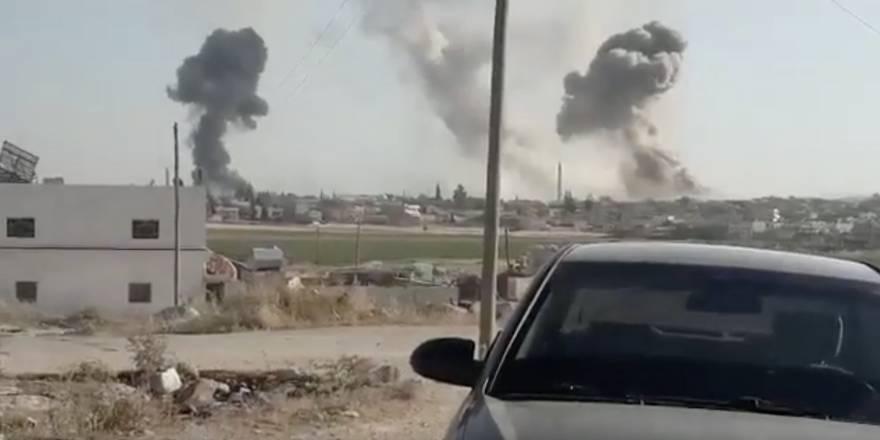 Rusya ve Esed rejimi İdlib'i yoğun şekilde bombalıyor