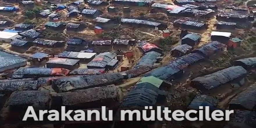 Arakan Kampları Jiletli Tellerle Çevrildi