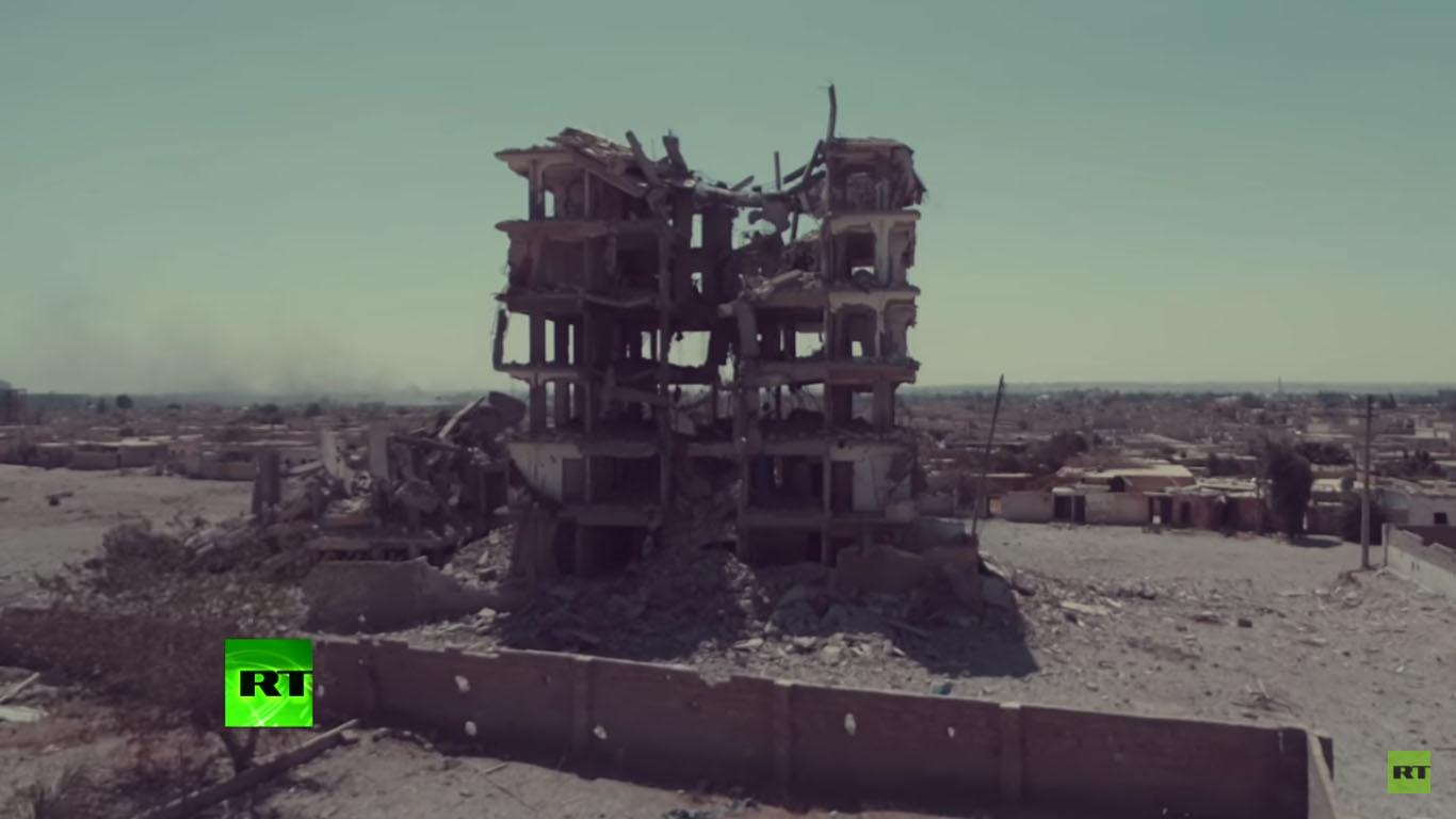 Savaş yorgunu Rakka (Drone görüntüleri)