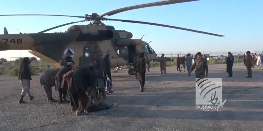 Afganistan'da Taliban'dan kaçan IŞİD'liler helikopterlerle tahliye edildi