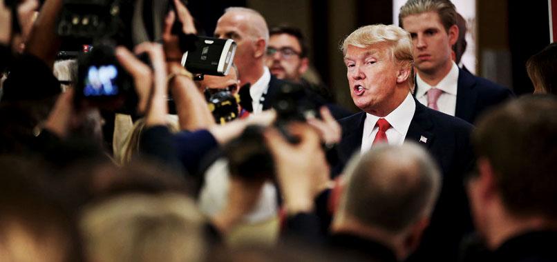 Trump 'medya boykotu'na devam ediyor