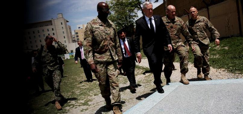 Mattis: Kabil hükümetinin yanındayız