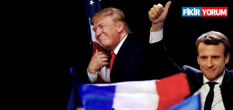 Macron ve Trump aynı politik kaderi paylaşabilir