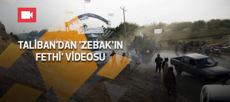 Taliban'dan 'Zebak'ın Fethi' videosu