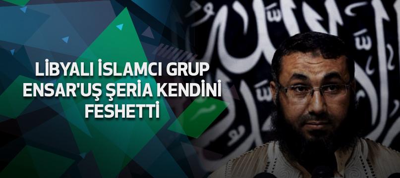 Libyalı İslamcı grup Ensar'uş Şeria kendini feshetti