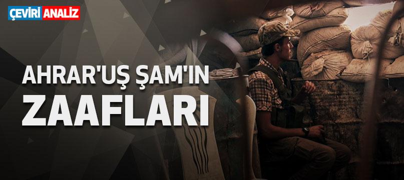 Ahrar'uş Şam'ın zaafları