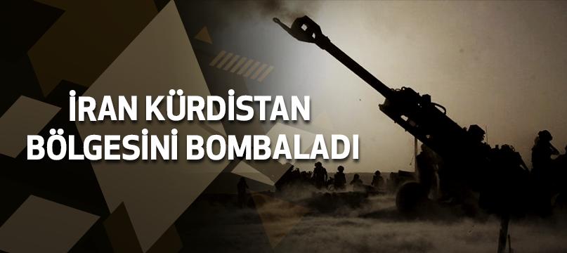 İran Kürdistan bölgesini bombaladı