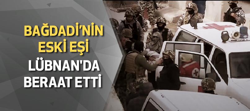 Bağdadi'nin eski eşi Lübnan'da beraat etti