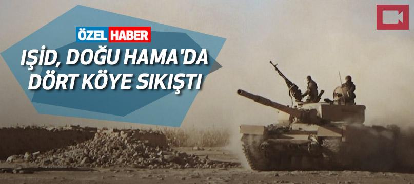 IŞİD, Doğu Hama'da dört köye sıkıştı