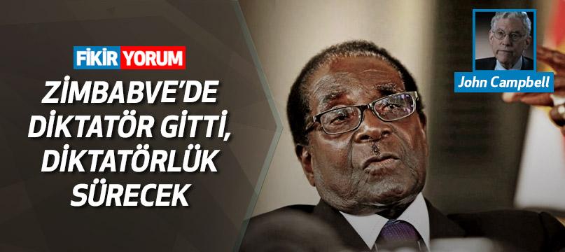 Zimbabve'de diktatör gitti, diktatörlük sürecek