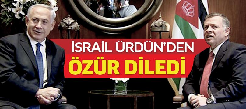 İsrail, Ürdün'den özür diledi