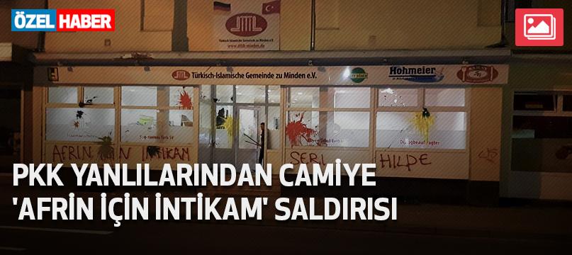 PKK yanlılarından camiye 'Afrin için intikam' saldırısı