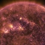 Nasa Güneş'teki Radyasyon Dalgalarını Kaydetti