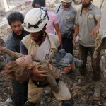 Halep'teki sivil savunma ekibinden yardım çağrısı