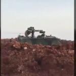 Fırat Kalkanı güçlerinden Afrin'de YPG'ye güdümlü füze atışı